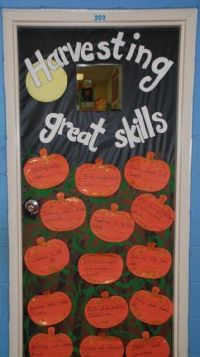 Harvest With These Halloween Bulletin Boards