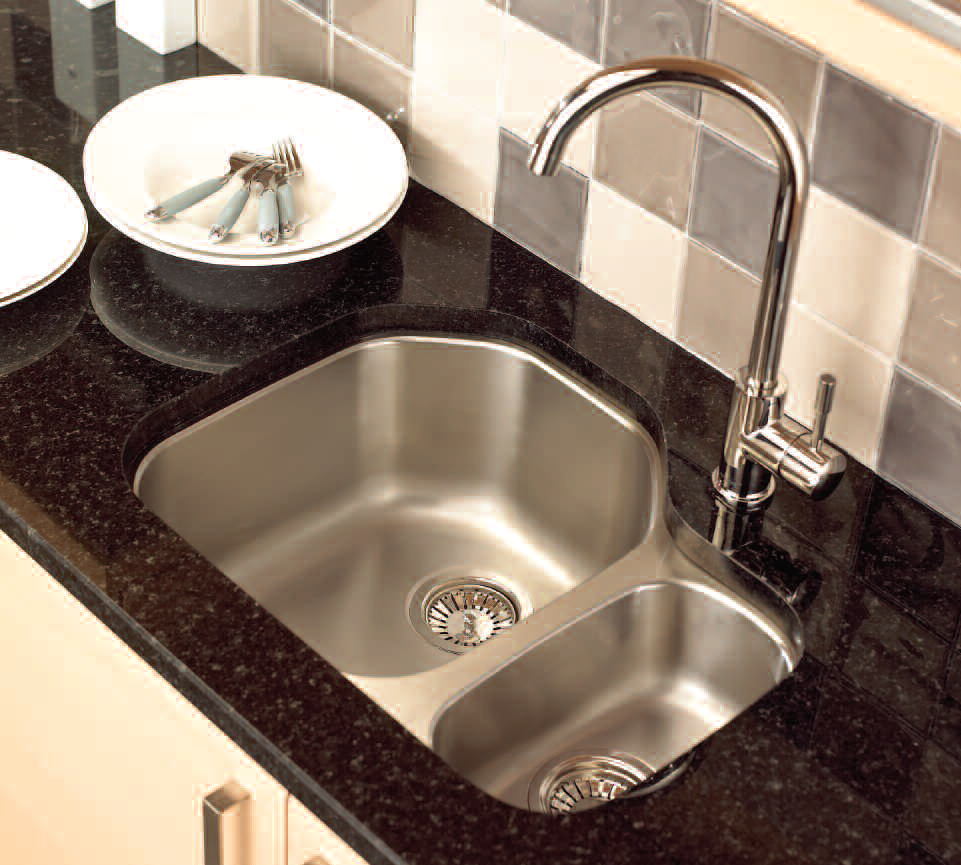 creative corner kitchen sink design ideas kitchen sink Undermount Stainless Steel Kitchen Sink with Black Marble