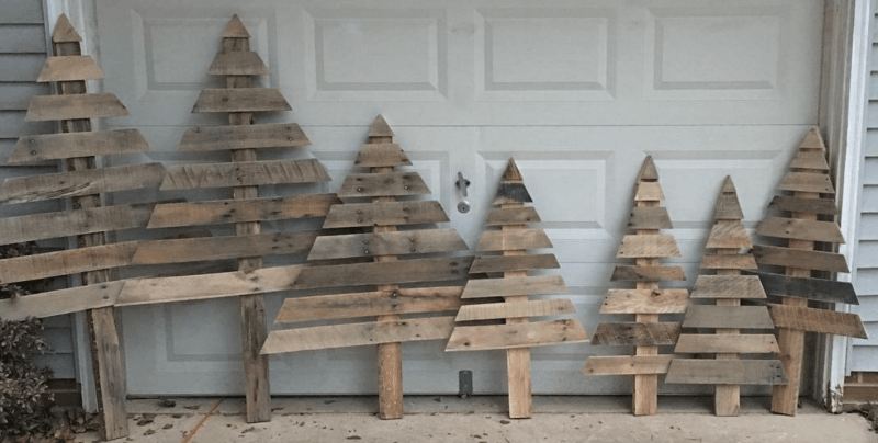 Relieving how to make trees from wooden pallets most pallet trees