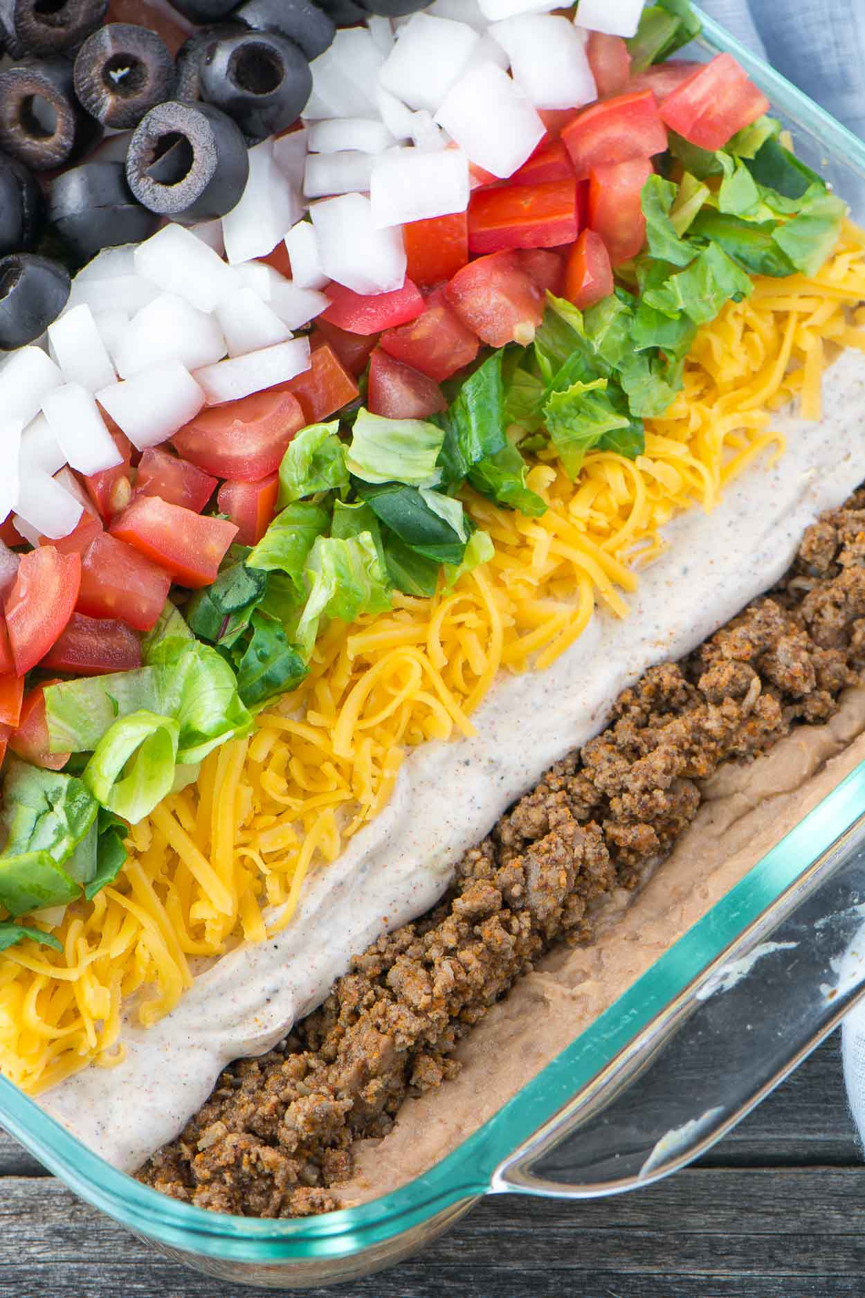 Fullsize Of Layered Mexican Dip