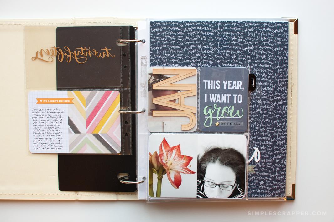 My 2015 Plan Scrapbooking in 85x11 or Smaller - Simple Scrapper