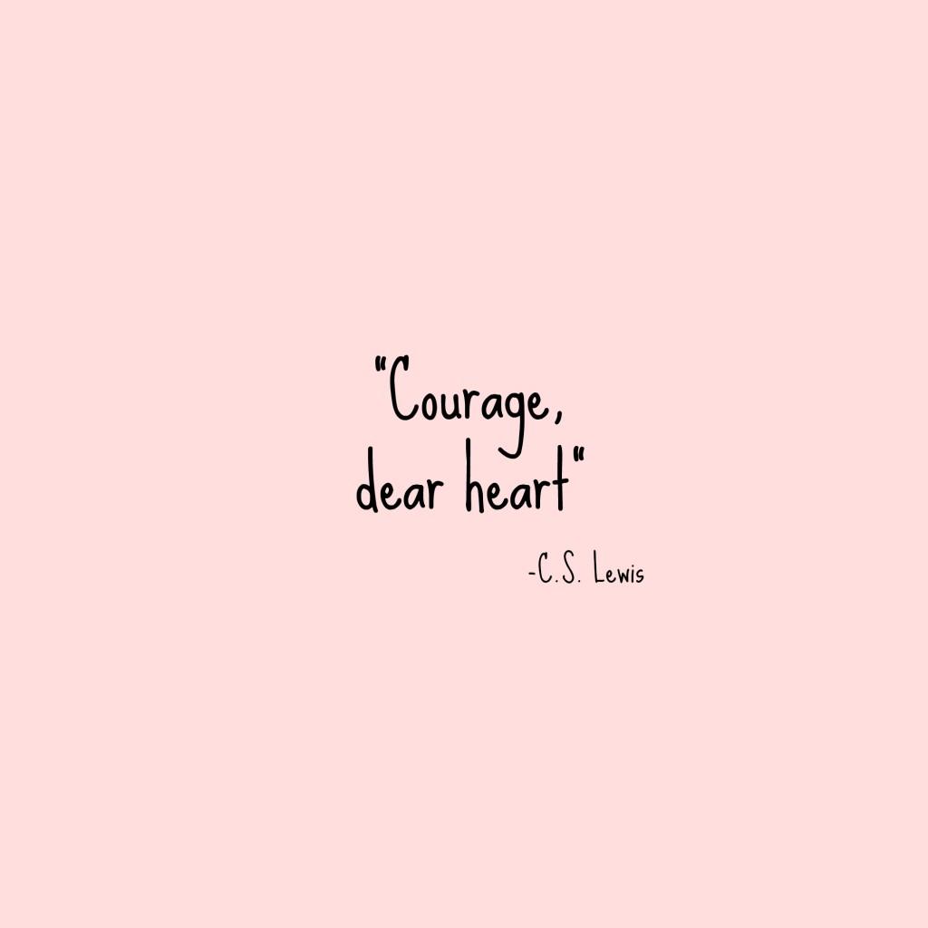 Seasonal Wallpaper For Iphone Courage Dear Heart
