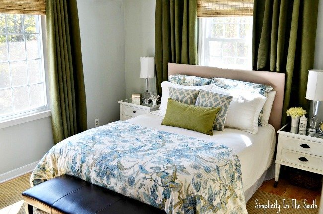 light blue green bedroom blue and green master bedroom