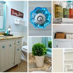 Vintage inspired guest bathroom reveal by Simplicity in the South