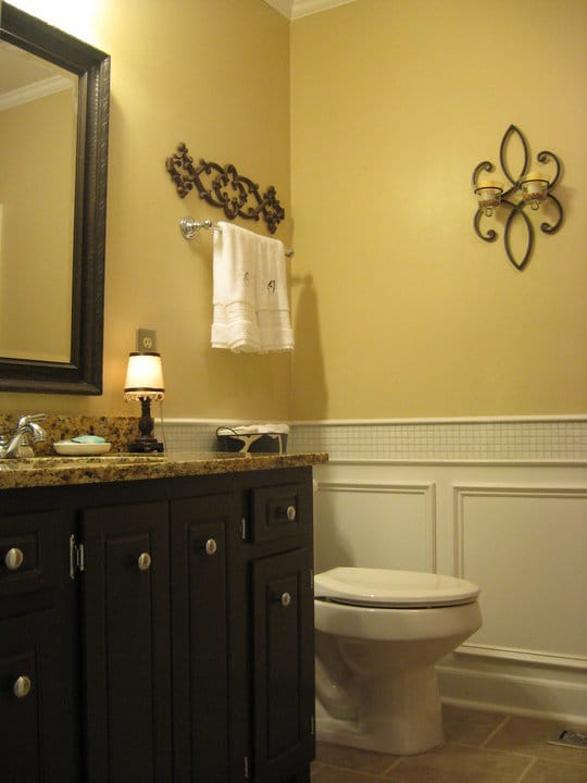 Vintage Inspired Guest Bathroom Reveal - Simplicity in the South