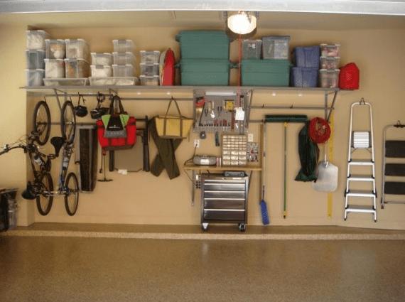 Monkey Bars Garage Organizing System Simplified Bee