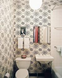 5 Favorites :: Wallpapered Powder Rooms - Simplified Bee