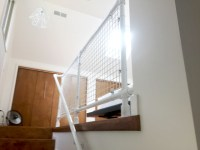 DIY Modern Stair Railing for Loft Staircase | Simplified ...