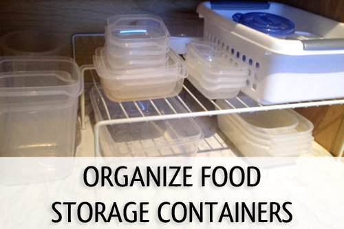 How To Organize Food Storage Containers  sc 1 st  Listitdallas & Organizing Food Storage - Listitdallas