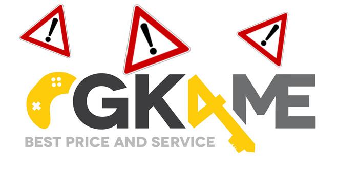 [Update] Warnung: Keyshop GK4.me