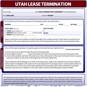 Utah Lease Termination
