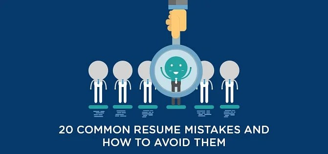 How to avoid Common Resume Mistakes Simplilearn - common resume mistakes