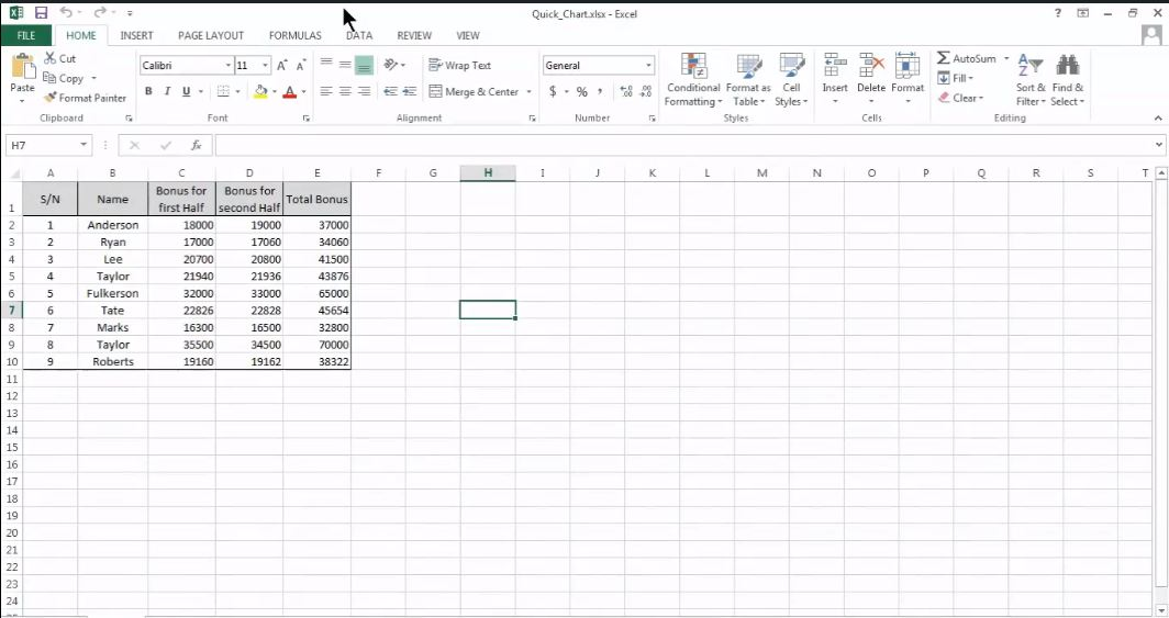 Create Charts and Objects in Excel 2013 Tutorial Simplilearn