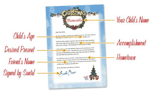 FREE Personalized Letter from Santa! Simplistically Living