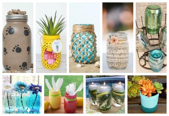 34 Adorable Mason Jar Crafts You Need To Make Now