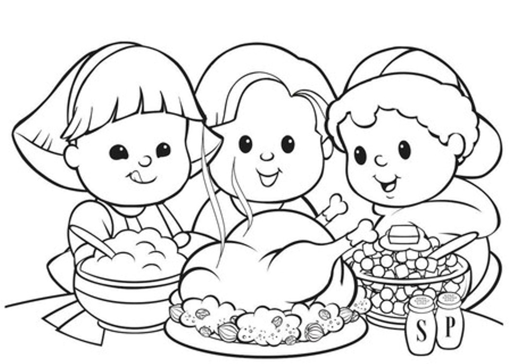 Disney coloring pages thanksgiving -  Thanksgiving Coloring Pages For Kids Toddlers Simply Chacha Download