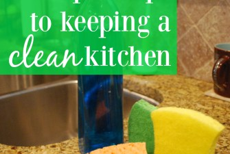 5 Simple Steps to Keeping a Clean Kitchen