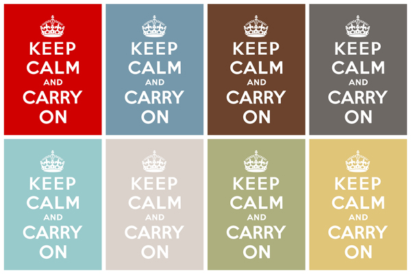 Keep Calm and Carry On - 8x10 Freebie - Simply Fresh Designs