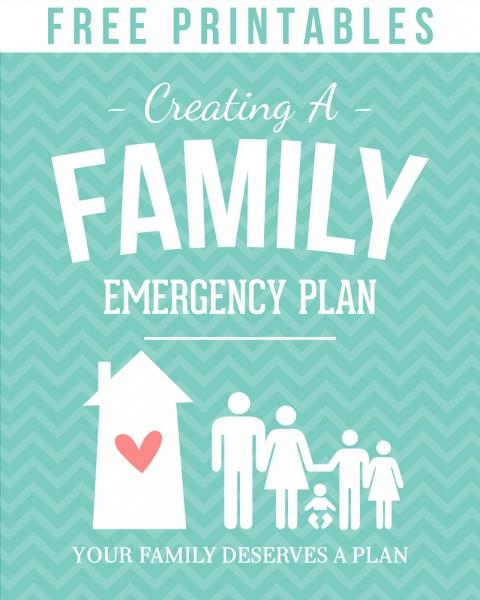 Create a Family Emergency Plan - Simply Fresh Designs