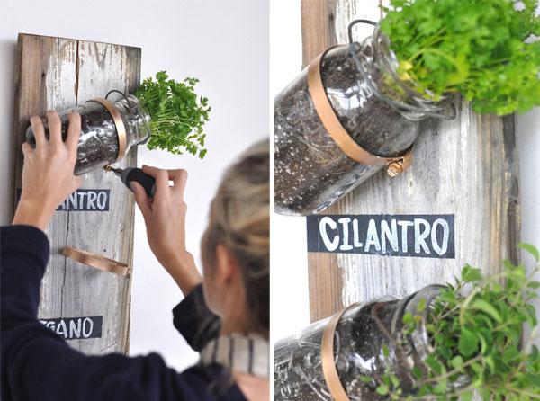 Permalink to Creative Indoor Herb Garden