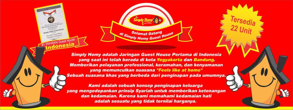 Guest House Jogja dan Bandung