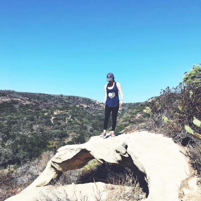 Top of the world literally simplyleopard lagunabeach topoftheworld hikenbspRead more
