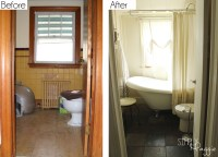 Cottage Bathroom Renovation Before and After ...