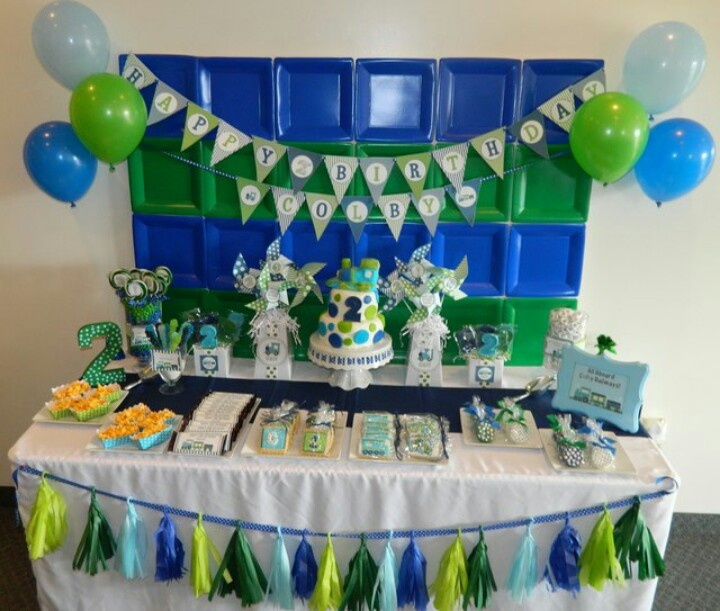 Blue And Green Party Decoration Ideas wwwindiepediaorg - blue and green birthday party