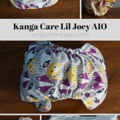 Newborn Diapers – Kanga Care Lil Joey AIO {Review}