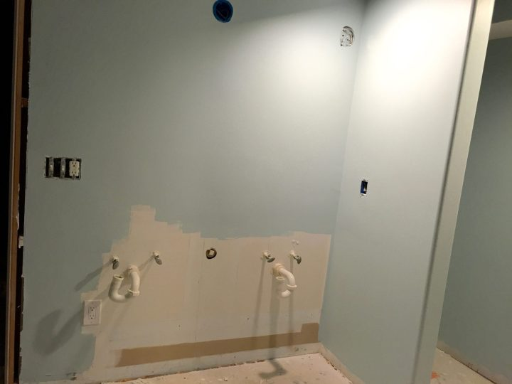 Painting the Master Bathroom
