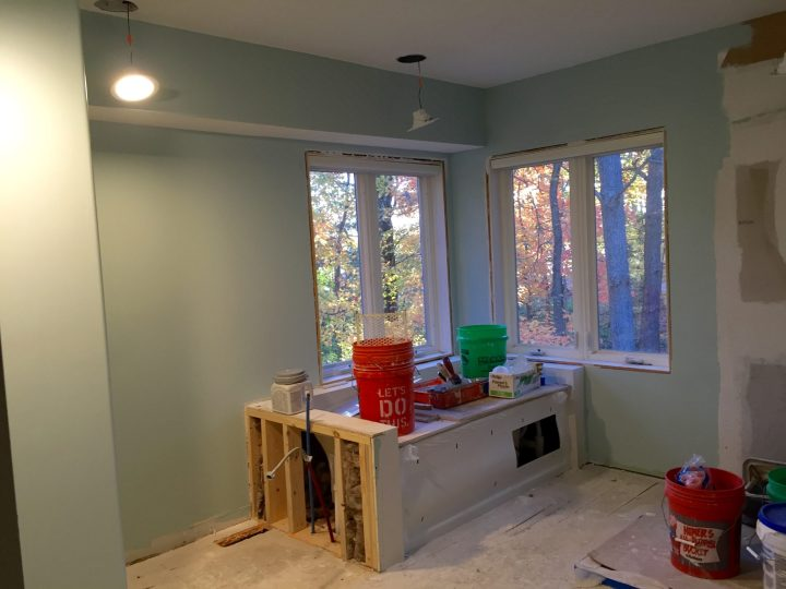 Master Bathroom Painting