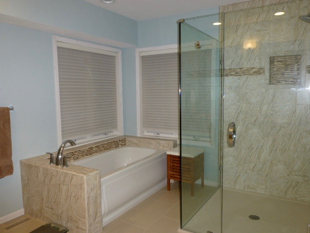 """After"" Master Bathroom Remodel"