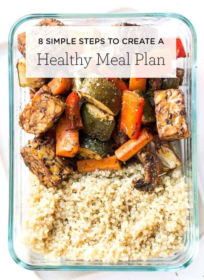 How to Create a Healthy Meal Plan - Simply Quinoa