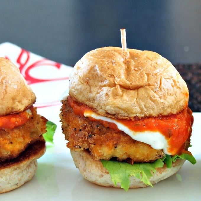 Turkey Parmesan Sliders | Simply Sated
