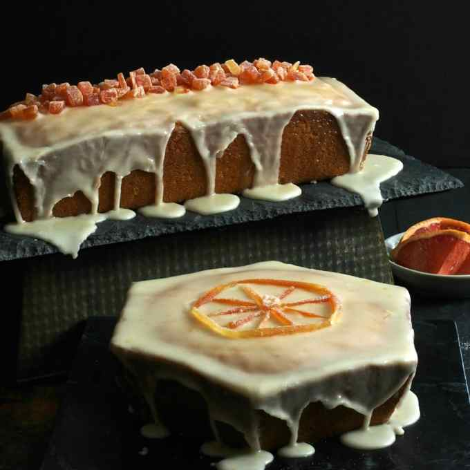 Grapefruit Pound Cake with Grapefruit Glaze - citrusy & sweet with a ...