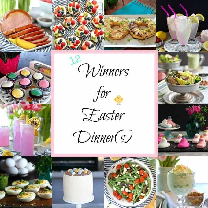 12 Winners for Easter Dinner(s)