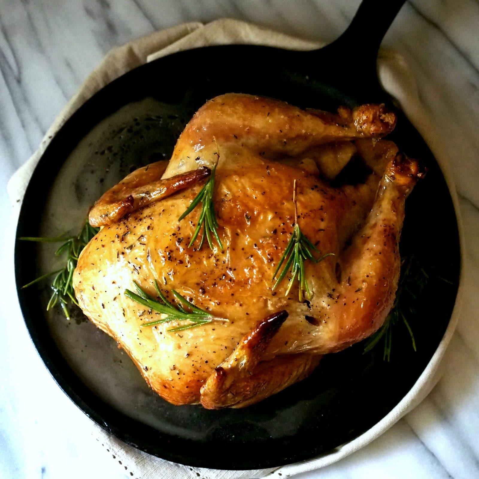 ... Thomas Keller's Favorite Simple Roast Chicken , scrumptiously simple