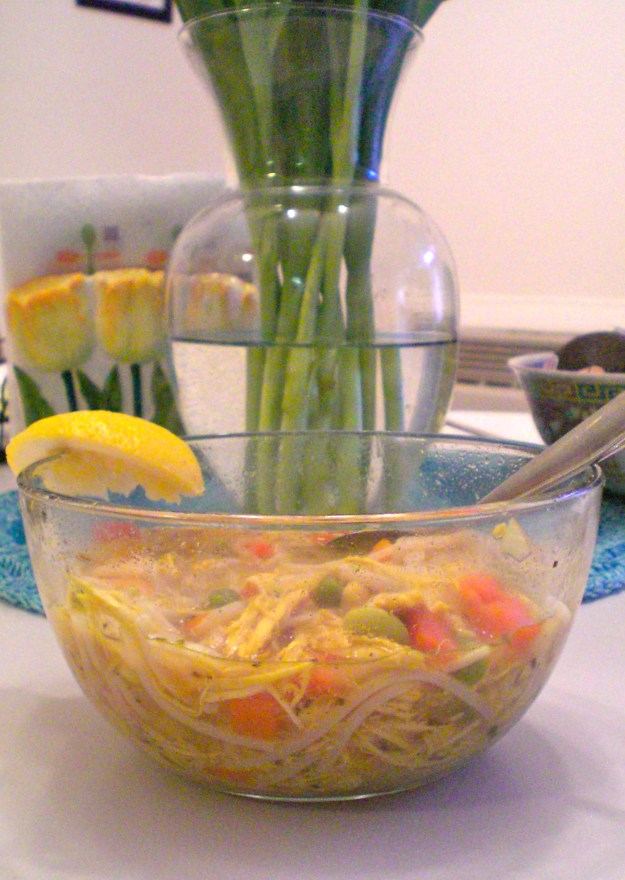 Chicken Noodle Soup | Simply Scrumptious By Sarah