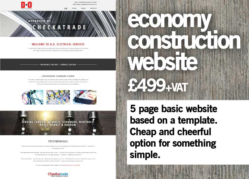 Construction Websites - SimplySigns Ltd