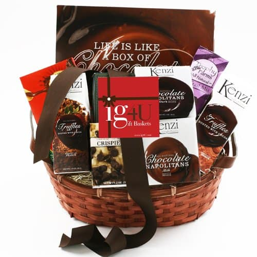 Chocolate Sampler Gift Basket