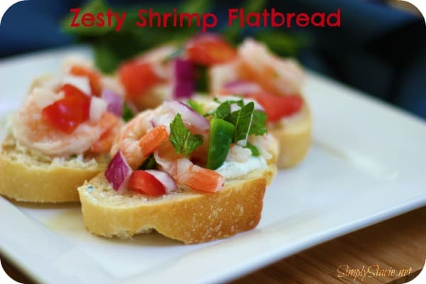 Zesty Shrimp Flatbread