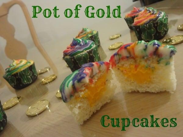 Pot Of Gold Cupcake