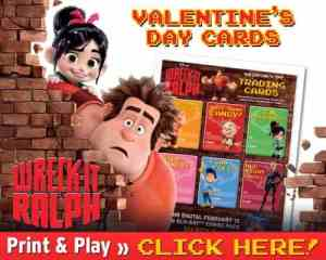 Wreck-It Ralph Valentine's Day Cards