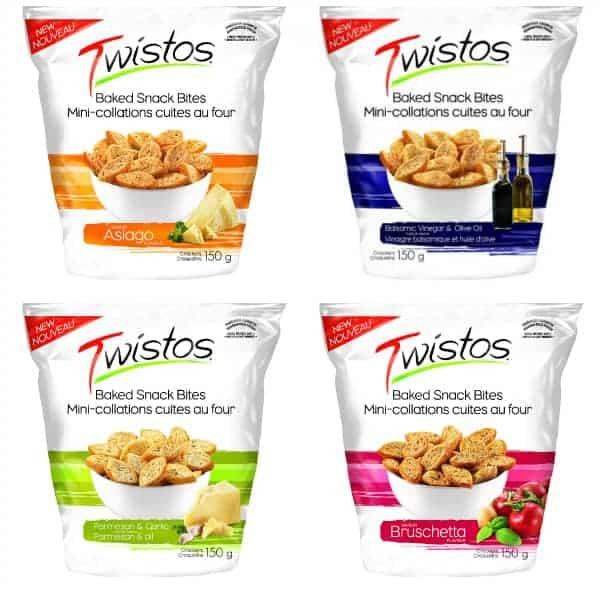 Twistos Baked Snack Bites