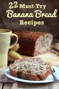 22 Must-Try Banana Bread Recipes