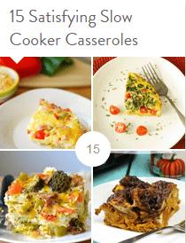 15 Satisfying Slow Cooker Casseroles