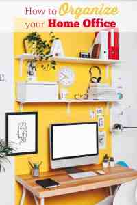 How to Organize Your Home Office - Simply Stacie