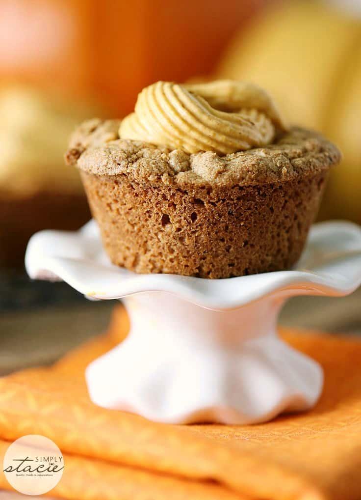 Pumpkin Spice Cake Cups