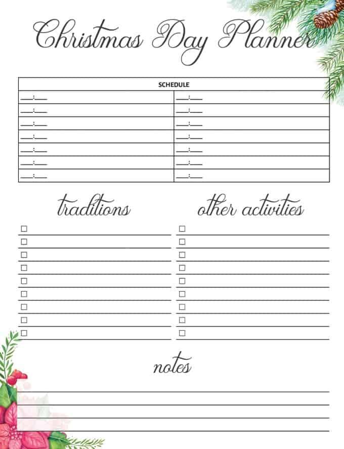 Christmas Planner Free Printable - Simply Stacie