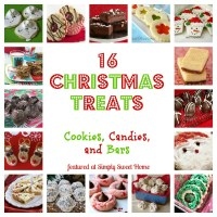 16 Christmas Treats and a Linky Party!